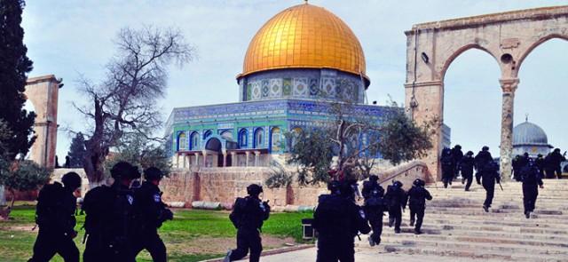 باحة المسجد الأقصى