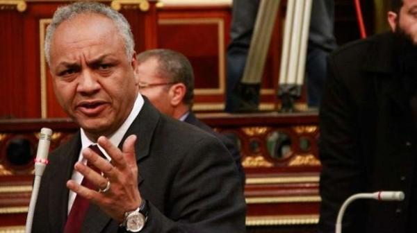 الكاتب الصحفي المصري مصطفى بكري