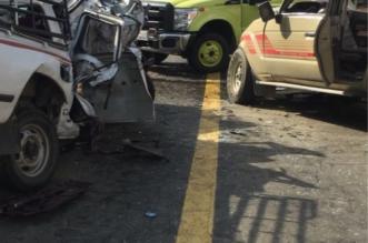 وفاة وإصابة 6 في تصادم مركبة عائلية برجال ألمع - المواطن