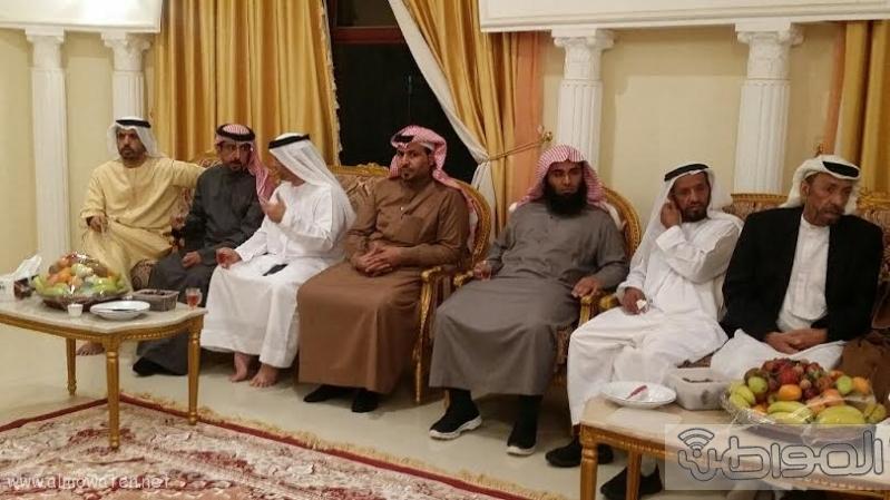 وفد من #الجوف يزور عائلة الشهيد #الكتبي بـ #الإمارات11