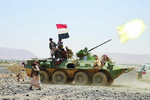 الجيش اليمني: تقدم ملحوظ على مختلف الجبهات ضد الانقلابيين11