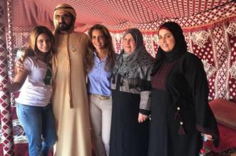بالصور.. هيا بنت الحسين توجِّه رسالة لعائلة معاذ الكساسبة - المواطن