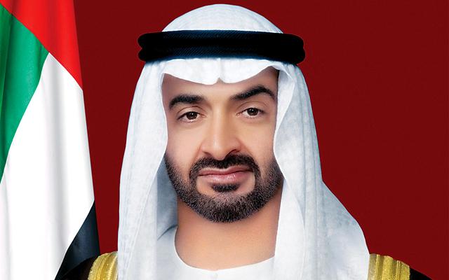 الشيخ محمد بن زيد آل نهيان ولي عهد أبو ظبي نائب القائد الأعلى للقوات المسلحة بدولة الإمارات العربية المتحدة
