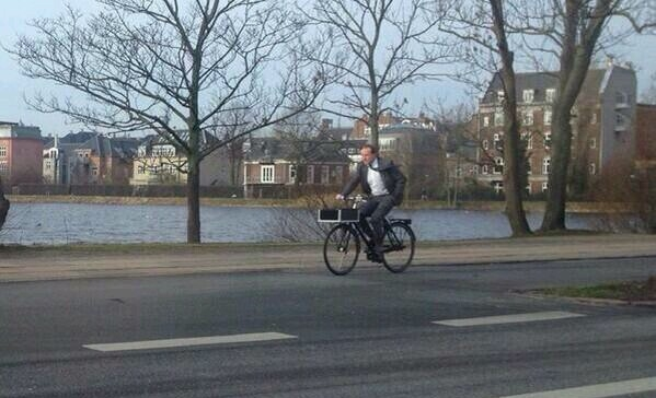 """""""موكب"""" وزير خارجية الدنمارك يثير إعجاب """"تويتر"""" - المواطن"""