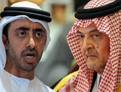 سعود الفيصل وعبدالله بن زايد
