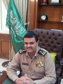 قائد حرس الحدود بمنطقة الجوف اللواء سعود بن سعد الثبيتي