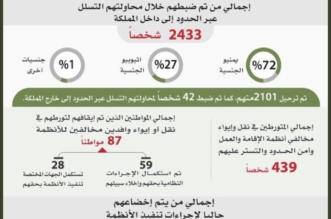 خلال شهر.. القبض على أكثر من 200 ألف مخالف منهم 118.939 مخالفًا لنظام الإقامة - المواطن