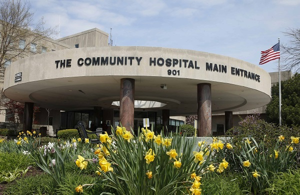 The exterior of Community Hospital, where a patient with the first confirmed U.S. case of the Middle East Respiratory Syndrome is in isolation, is seen in Munster, Indiana