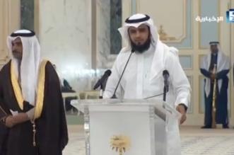 بالفيديو.. الشاعر العنزي يلقي قصيدة أمام الملك - المواطن