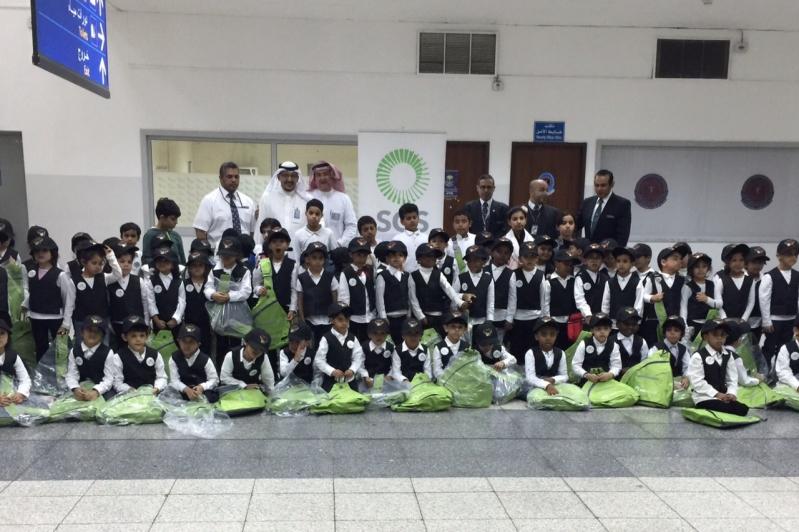 120 حافظًا لكتاب الله في ضيافة الخدمات الأرضية بمطار الملك عبدالعزيز