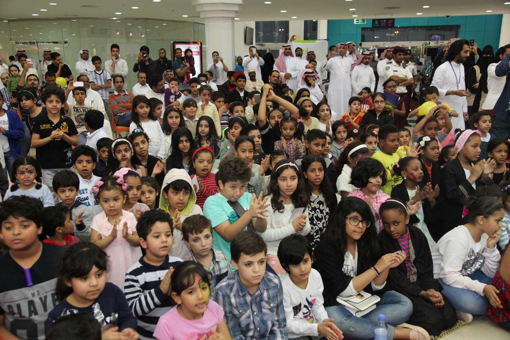 1200 طفل و500 أب في ختام فعالية أطفالنا.. قيم ومعاني بـ #الدمام (8)