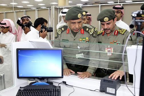 """""""المواطن"""" ترصد بالصور زيارة مدير عام الجوازات التفقدية لمطار الملك خالد - المواطن"""