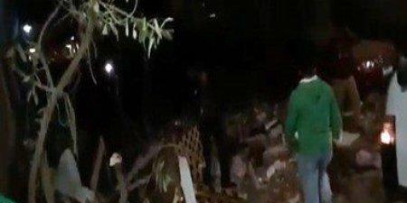 انفجار ضخم بشارع الهرم