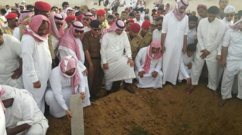 تشييع جثمان الشهيد فيصل القيسي بـ #جازان123