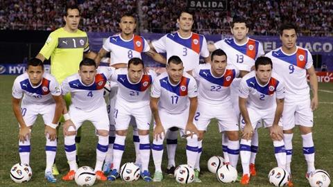 منتخب تشيلي 2014