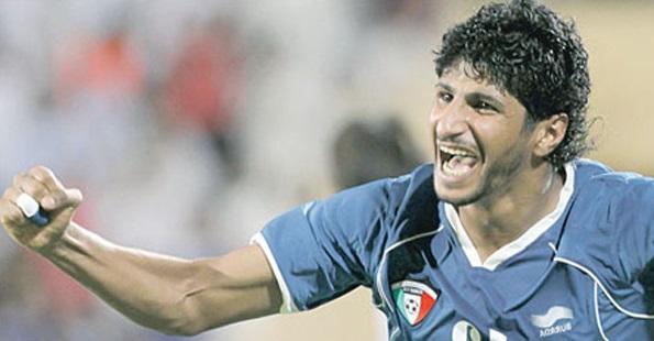 مدافع الفريق الدولي الكويتي مساعد ندا
