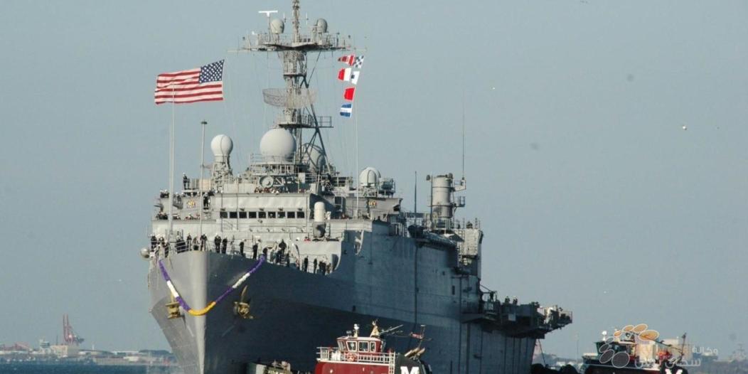 5 طلقات من المدمرة الأميركية تجبر سفينة إيرانية على التراجع