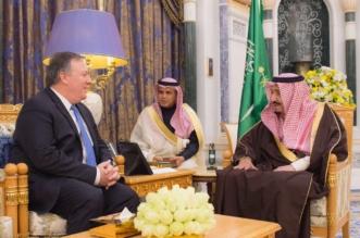الملك يستعرض العلاقات الثنائية مع مدير وكالة الاستخبارات المركزية الأميركية - المواطن
