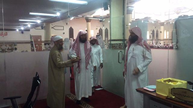 130طالبا يشاركون في يوم الهمة بمجمع القراء بالرياض (1)