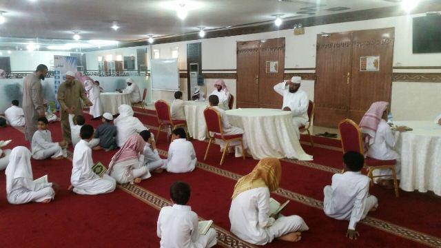 130طالبا يشاركون في يوم الهمة بمجمع القراء بالرياض (2)