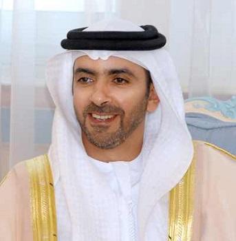 سمو الشيخ سيف بن زايد نائب رئيس مجلس وزراء دولة الإمارات العربية المتحدة وزير الداخلية القائد العام لشرطة أبو ظبي