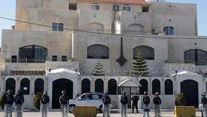 صورة أرشيفية للسفارة السورية بالعاصمة الأردنية، عمان