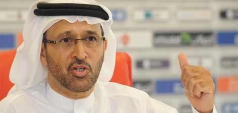 رئيس مجلس إدارة اتحاد كرة القدم الإماراتي الأستاذ يوسف السركال