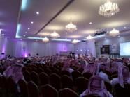 مضايقة المصورين بحفل تخريج حفظة حلقات عبد الله بن عباس