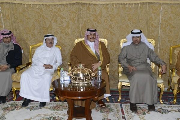 الأمير محمد بن فهد يعزي أسرة الرحيم في وفاة ابنهم تركي - المواطن