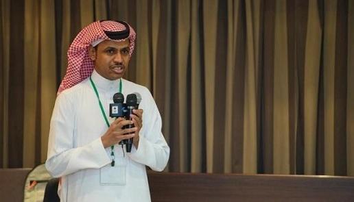 نعيم البكر عضو لجنة المسابقات لدى الاتحاد السعودي