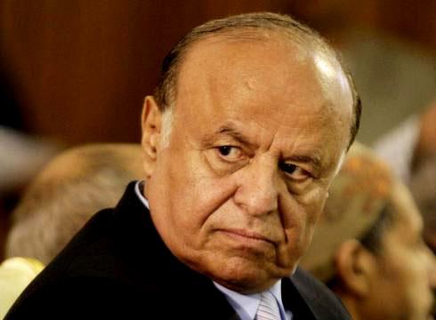 الرئيس اليمني: النصر على الانقلاب يلوح في الأفق