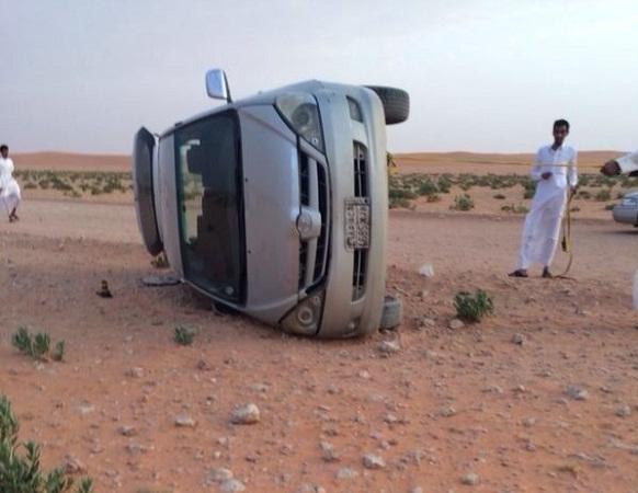 بالصور ..آل قاسم أراد مقابلة الوليد لسداد دينه فخسر سيارته في رماح ! - المواطن