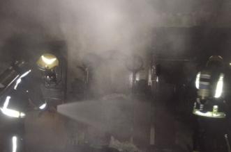 حريق بأحد منازل فيصلية نجران بسبب التماس كهربائي - المواطن