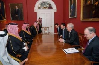 ولي العهد يشدد على أهمية التعاون مع الكونجرس ضد التطرف الإيراني - المواطن