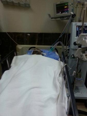 """تجاوباً مع """"المواطن"""".. نقل مُصاب الطوارئ للعناية المركزة بمستشفى عسير - المواطن"""