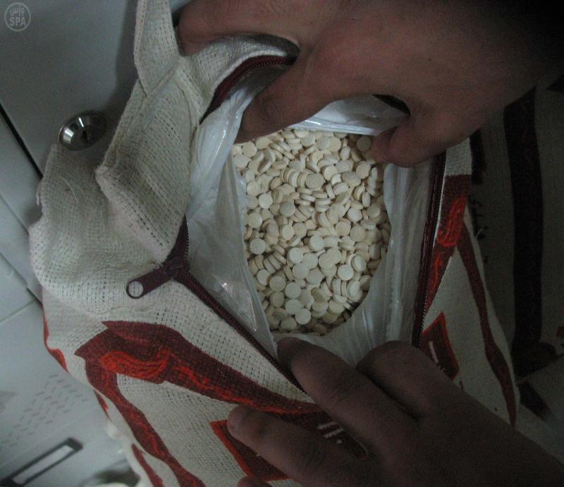 جمرك الرقعي يضبط مخدرات داخل أكياس الأرز وعلب الصابون - المواطن
