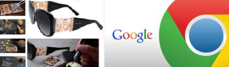 "جوجل"" و""لوكسوتيكا"""