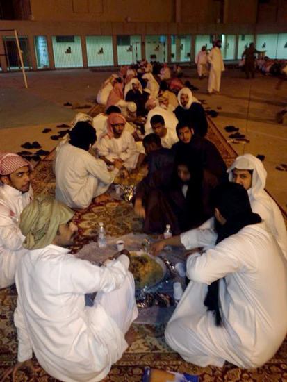 """""""سجون الطائف"""" تنظم إفطاراً جماعياً لـ220 نزيلاً - المواطن"""