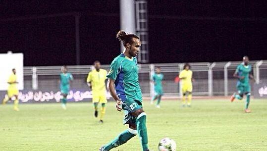 عبدالرحمن الخيبري لاعب نادي الشعلة