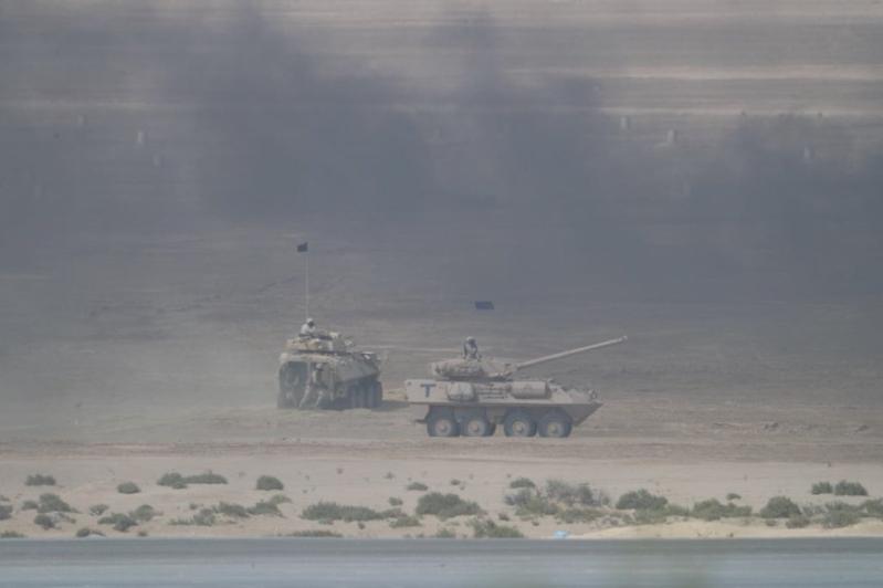 بالصور #درع_الخليج_المشترك1 .. أبطال يدافعون عن الأرض ورسالة إلى داعمي الإرهاب