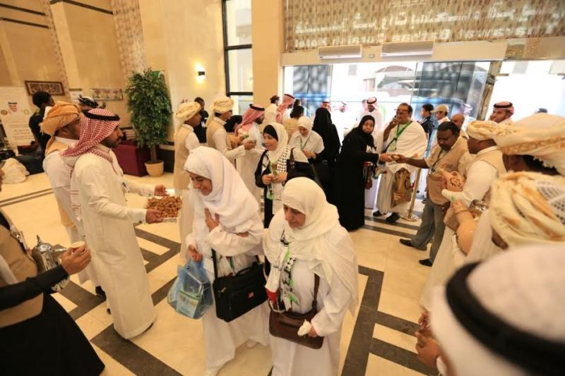 وصول 500 حاج فلسطيني من ضيوف الملك إلى مكة المكرمة