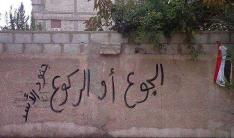 """. أشباه الأحياء في مضايا.. الجريمة الحية لنظام الأسد و""""نصر الله""""2"""