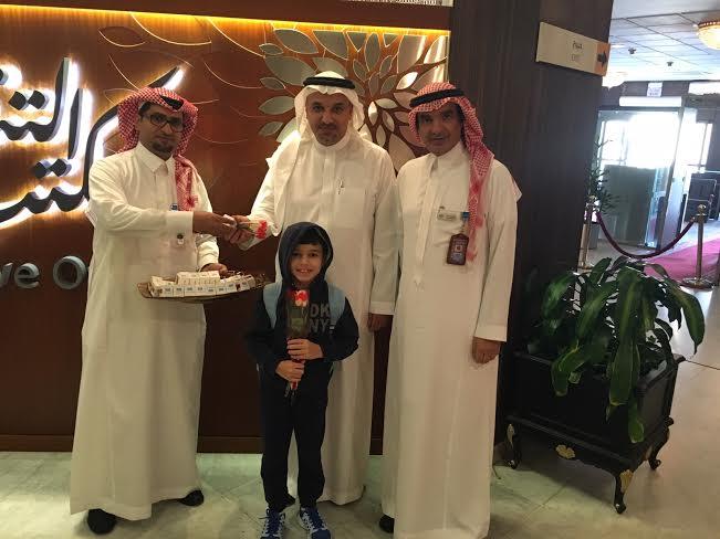 استقبال احتفالي للمسافرين بمطار الملك عبدالعزيز بـ #جدة2