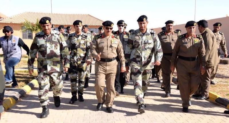 بالصور.. مدير الأمن العام يتفقد إدارات #الشمالية2