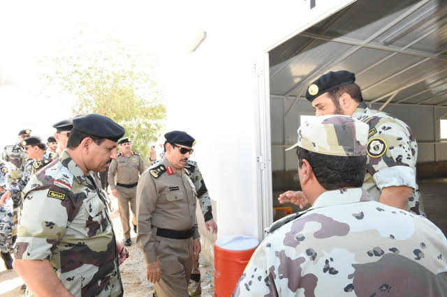 الفريق #المحرج يتفقد مواقع الأمن العام بـ #مكة