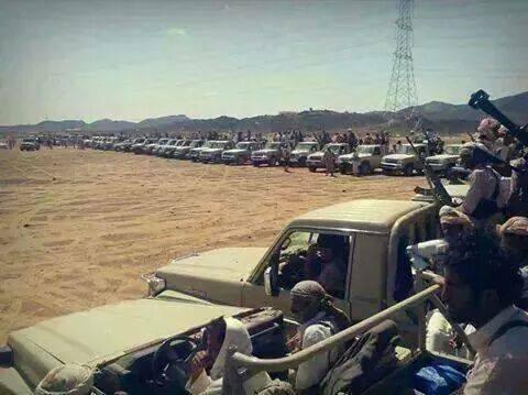 قبائل مطارح تسيطر على كتيبة تابعة للحرس الجمهوري اليمني