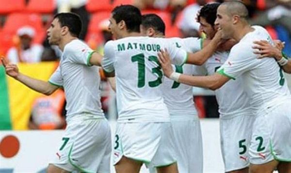 منتخب الجزائر وبلجيكا