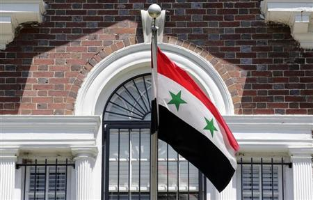 أمريكا توقف أنشطة السفارة والقنصليات السورية