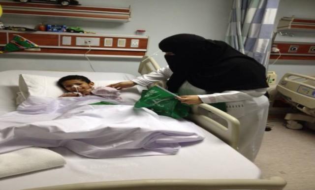نبيل منوم في مستشفى الولادة والأطفال