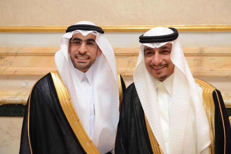 نجل الغانم يحتفل بزفافه على كريمة الشيخ السويح